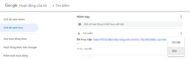 Hướng dẫn cách xóa triệt để lịch sử tìm kiếm trên Google Chorme - Ảnh 2.