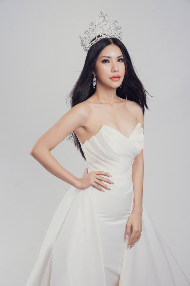 Nữ tiếp viên hàng không Loan Vương dự thi Hoa hậu Quý bà quốc tế - Ảnh 6.