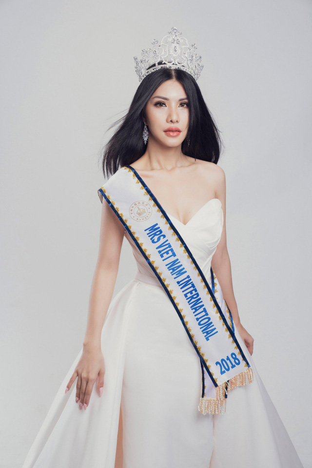 Nữ tiếp viên hàng không Loan Vương dự thi Hoa hậu Quý bà quốc tế - Ảnh 5.