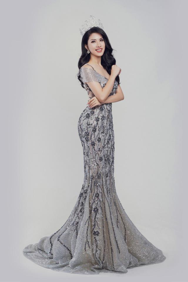 Nữ tiếp viên hàng không Loan Vương dự thi Hoa hậu Quý bà quốc tế - Ảnh 3.