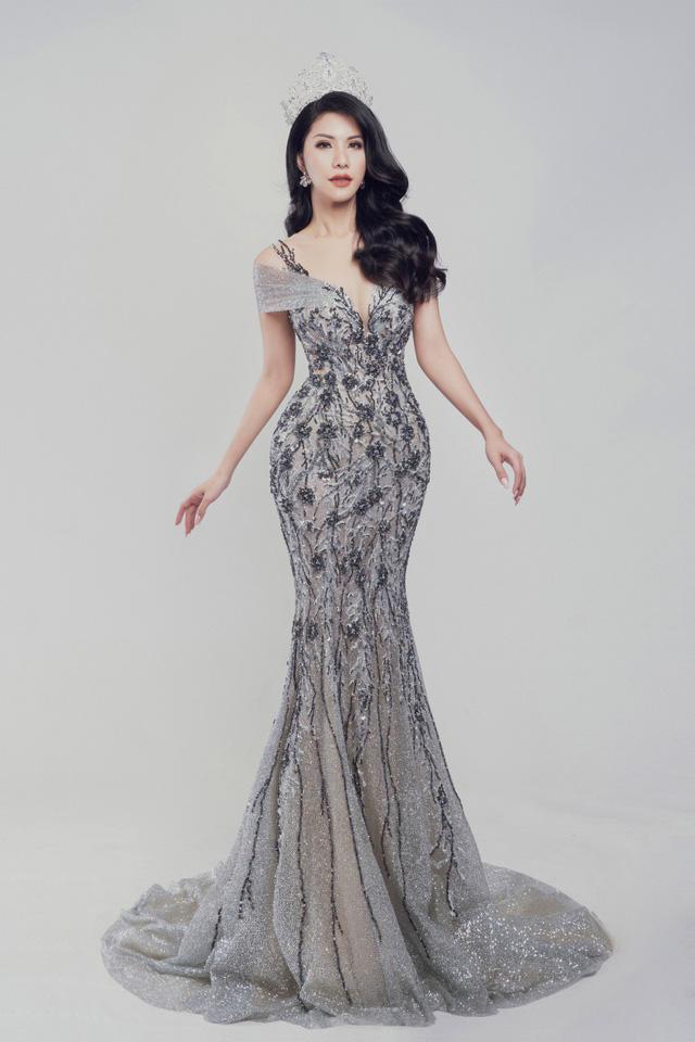 Nữ tiếp viên hàng không Loan Vương dự thi Hoa hậu Quý bà quốc tế - Ảnh 4.