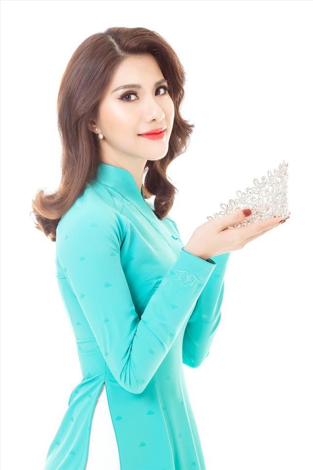 Nữ tiếp viên hàng không Loan Vương dự thi Hoa hậu Quý bà quốc tế - Ảnh 1.