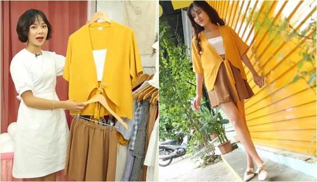 Tuyệt chiêu dành cho cô nàng thích diện áo màu vàng - Ảnh 1.