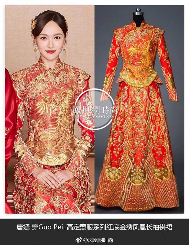 Cận cảnh váy cưới giá 1,3 tỷ đồng của Đường Yên - Ảnh 2.