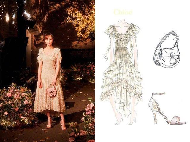 Cận cảnh váy cưới giá 1,3 tỷ đồng của Đường Yên - Ảnh 4.