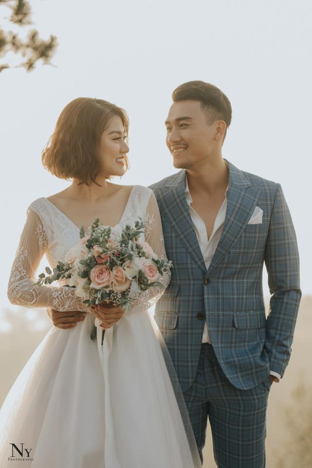Ngắm bộ ảnh cưới tình bể bình của diễn viên Xuân Phúc - Ảnh 4.