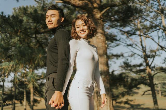 Ngắm bộ ảnh cưới tình bể bình của diễn viên Xuân Phúc - Ảnh 9.