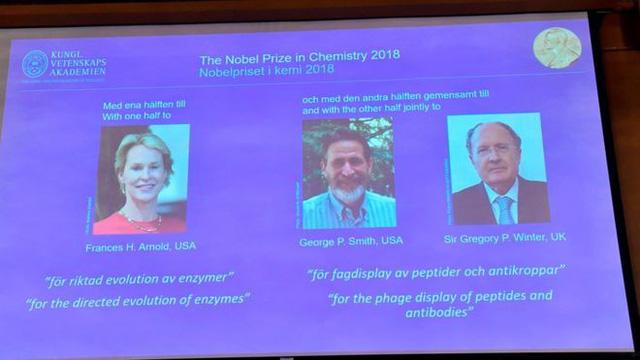 Giải Nobel Hóa học 2018 tôn vinh cuộc cách mạng của sự tiến hóa - Ảnh 2.