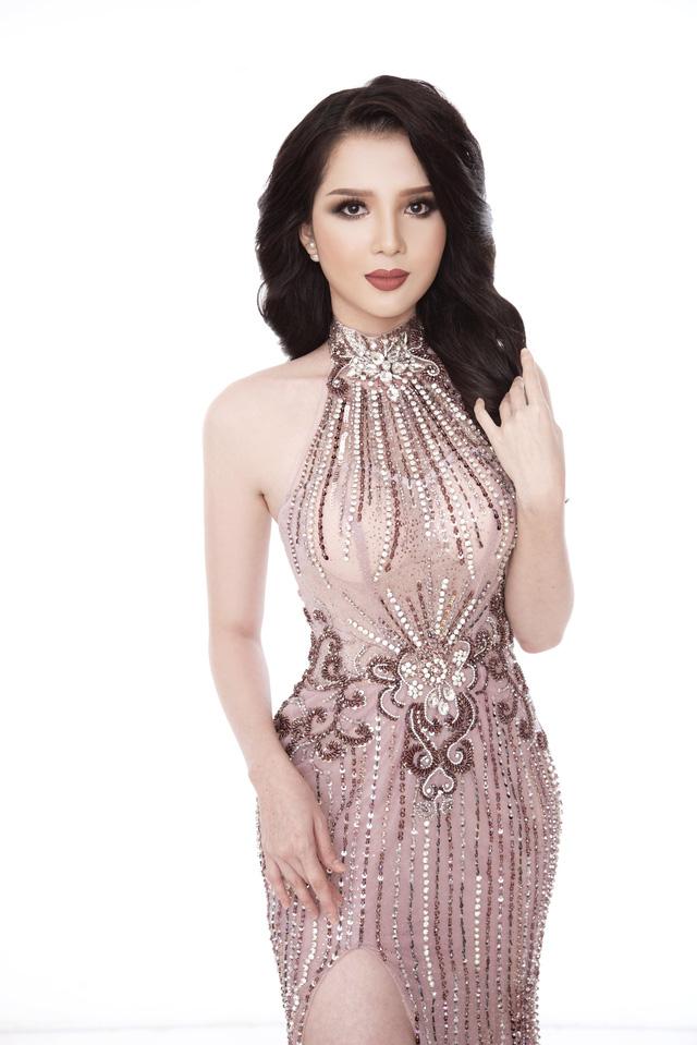 Thúy Vi diện đầm dạ hội trước thềm Chung kết Hoa hậu châu Á-Thái Bình Dương - Ảnh 4.