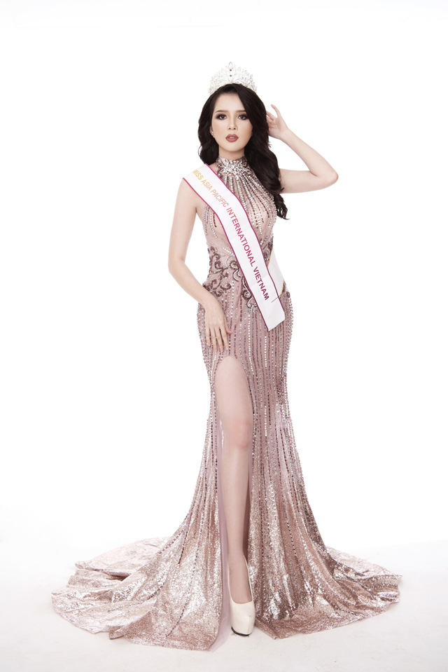 Thúy Vi diện đầm dạ hội trước thềm Chung kết Hoa hậu châu Á-Thái Bình Dương - Ảnh 7.