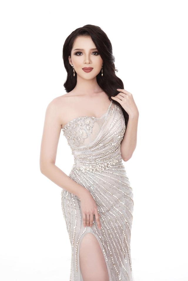 Thúy Vi diện đầm dạ hội trước thềm Chung kết Hoa hậu châu Á-Thái Bình Dương - Ảnh 3.