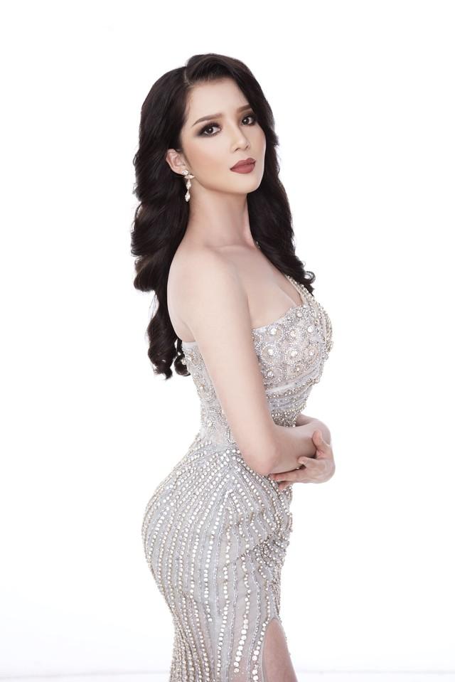 Thúy Vi diện đầm dạ hội trước thềm Chung kết Hoa hậu châu Á-Thái Bình Dương - Ảnh 2.