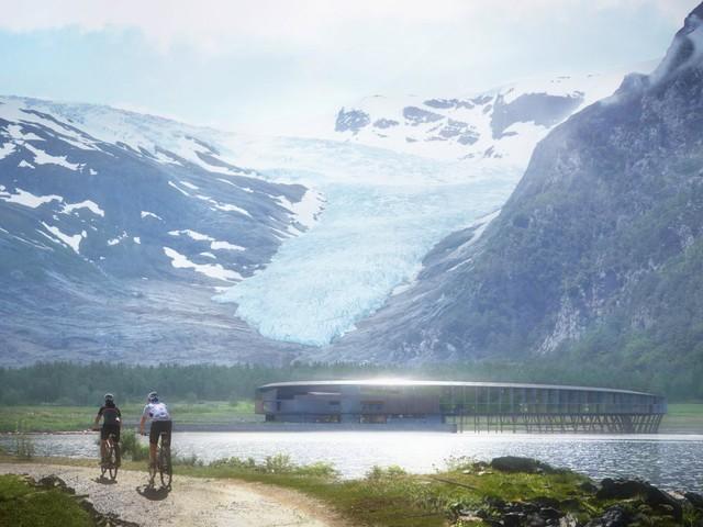 Khám phá khách sạn đẹp huyền ảo như trong phim khoa học viễn tưởng - Ảnh 3.