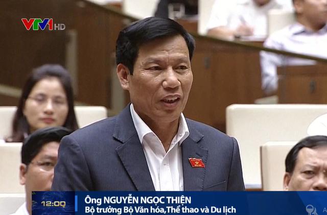 Bộ trưởng Bộ VH-TT&DL: Đạo đức xã hội xuống cấp xuất phát từ các ngành kinh tế - Ảnh 1.