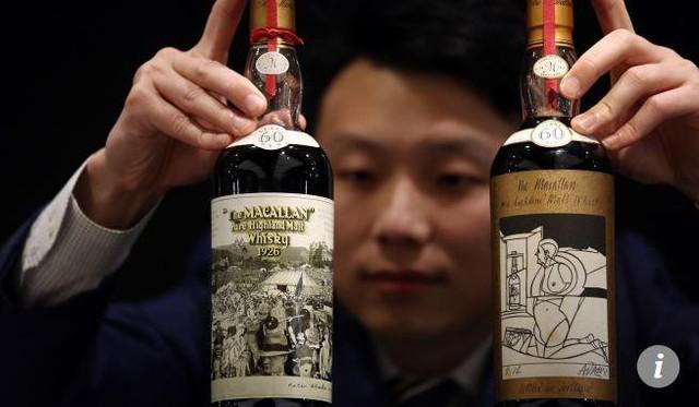 Chai whisky đắt nhất thế giới được bán với giá 1,1 triệu USD - Ảnh 2.