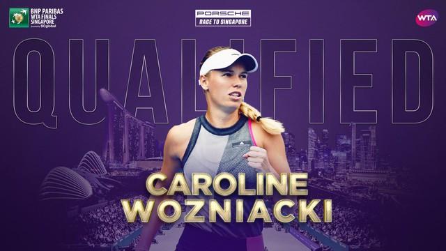 Petra Kvitova và Caroline Wozniacki giành quyền dự WTA Finals - Ảnh 2.