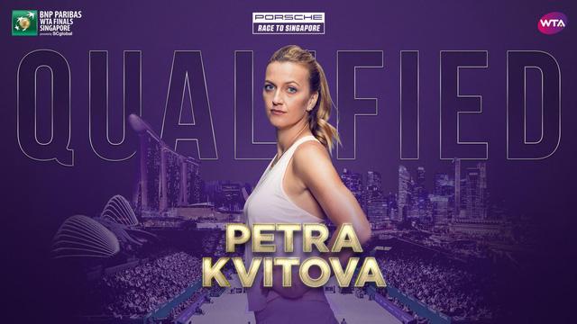 Petra Kvitova và Caroline Wozniacki giành quyền dự WTA Finals - Ảnh 1.