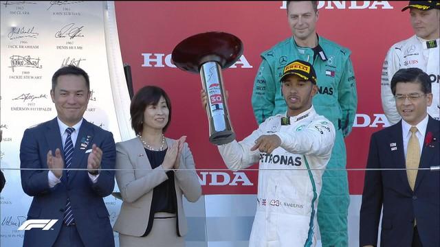 Đua xe F1: Lewis Hamilton về nhất tại Grand Prix Nhật Bản - Ảnh 2.