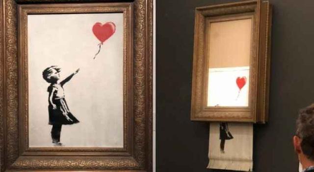 Banksy - Nghệ sĩ bí ẩn nhất của nghệ thuật đường phố hiện đại - Ảnh 1.