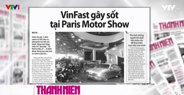VinFast ra mắt xe tại Paris Motor Show: Cú bẻ lái của ngành công nghiệp ô tô Việt - Ảnh 1.