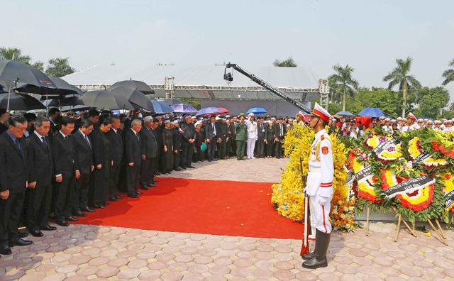 Hình ảnh Lễ an táng nguyên Tổng Bí thư Đỗ Mười tại quê nhà - Ảnh 9.