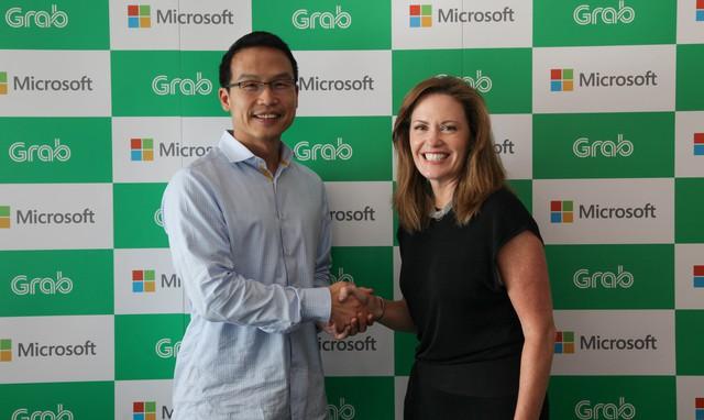 Microsoft đầu tư chiến lược vào Grab - Ảnh 1.