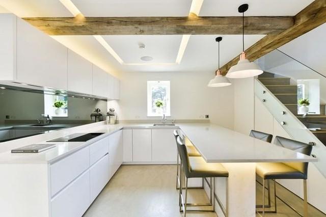 Sáng tạo thiết kế đèn LED khiến căn nhà thêm sang trọng - Ảnh 9.