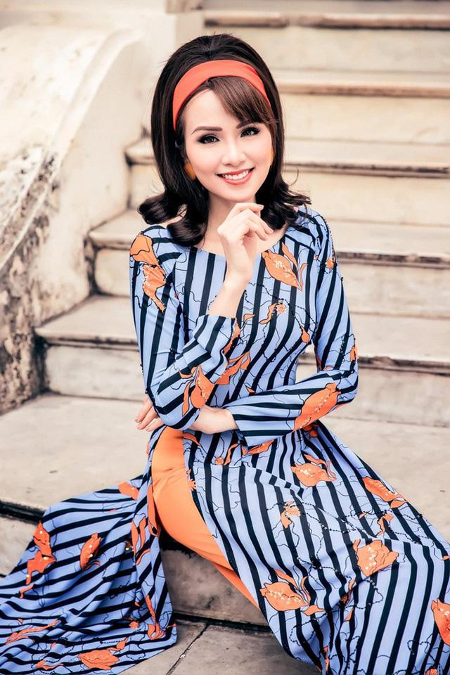 """Hoa hậu Diễm Hương hóa """"Cô Ba Sài Gòn"""" trong bộ ảnh mới - Ảnh 1."""