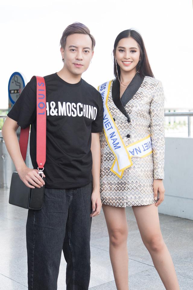 Hoa hậu Tiểu Vy chính thức lên đường dự thi Miss World 2018 - Ảnh 7.