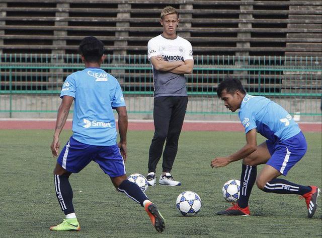 ĐT Campuchia có thuyền trưởng Honda trước trận gặp Myanmar - Ảnh 1.