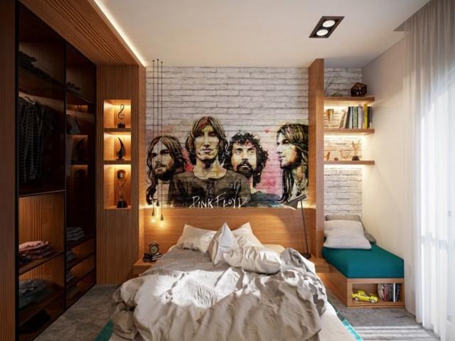 Mẫu phòng ngủ sáng tạo dành cho thanh thiếu niên - Ảnh 8.