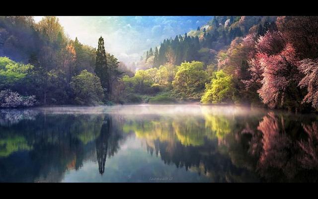 Ngỡ ngàng cảnh đẹp như chốn thần tiên ở Hàn Quốc - Ảnh 11.