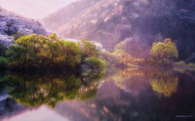Ngỡ ngàng cảnh đẹp như chốn thần tiên ở Hàn Quốc - Ảnh 3.