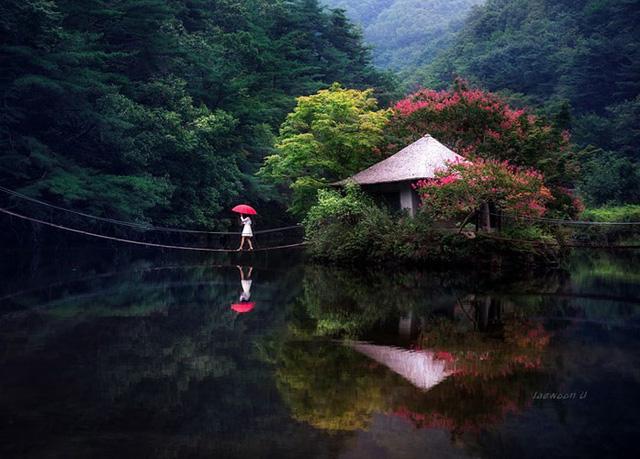 Ngỡ ngàng cảnh đẹp như chốn thần tiên ở Hàn Quốc - Ảnh 8.