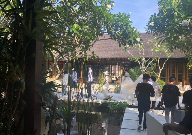 Mỹ nam Quách Phẩm Siêu chụp ảnh cưới tại Bali - Ảnh 2.