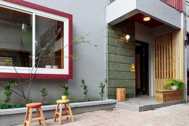 Cải tạo ngôi nhà cũ thành không gian sống hiện đại - Ảnh 1.