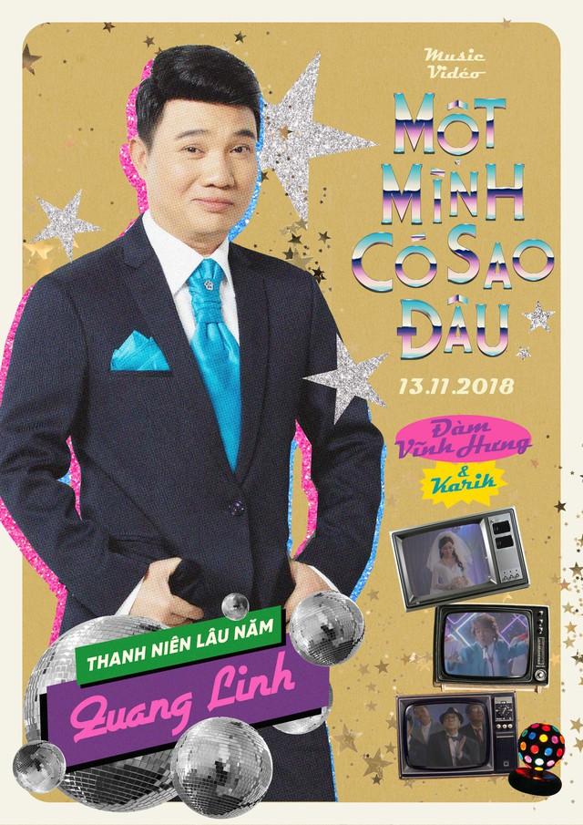 Trường Giang bắn rap điệu nghệ trong MV mới của Đàm Vĩnh Hưng - Ảnh 1.