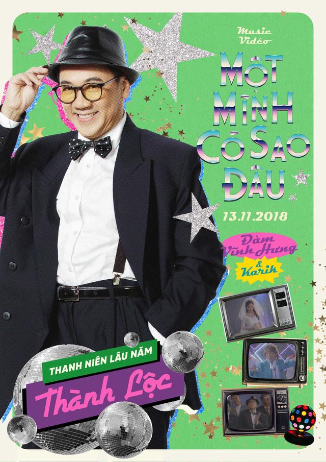 Trường Giang bắn rap điệu nghệ trong MV mới của Đàm Vĩnh Hưng - Ảnh 4.