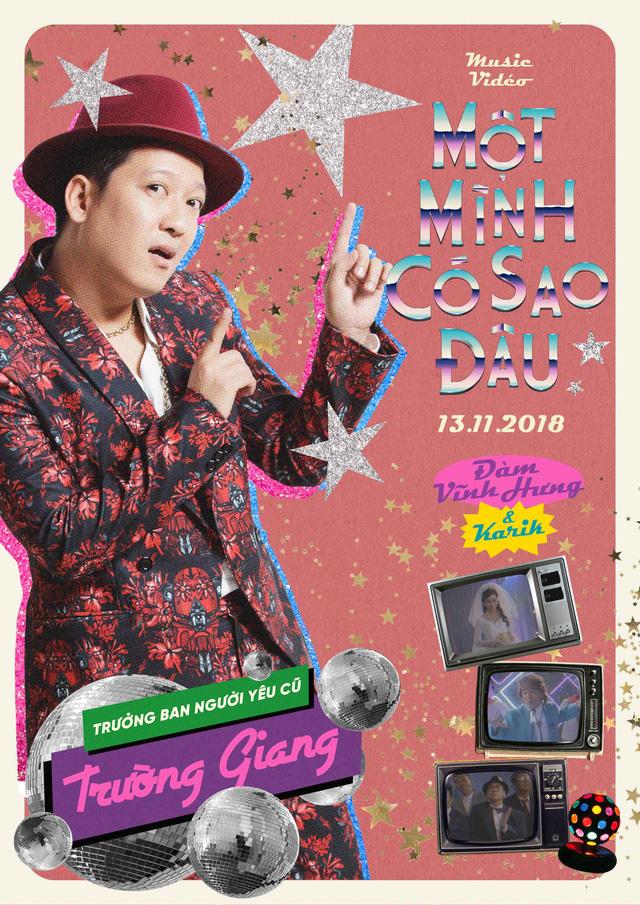 Trường Giang bắn rap điệu nghệ trong MV mới của Đàm Vĩnh Hưng - Ảnh 3.