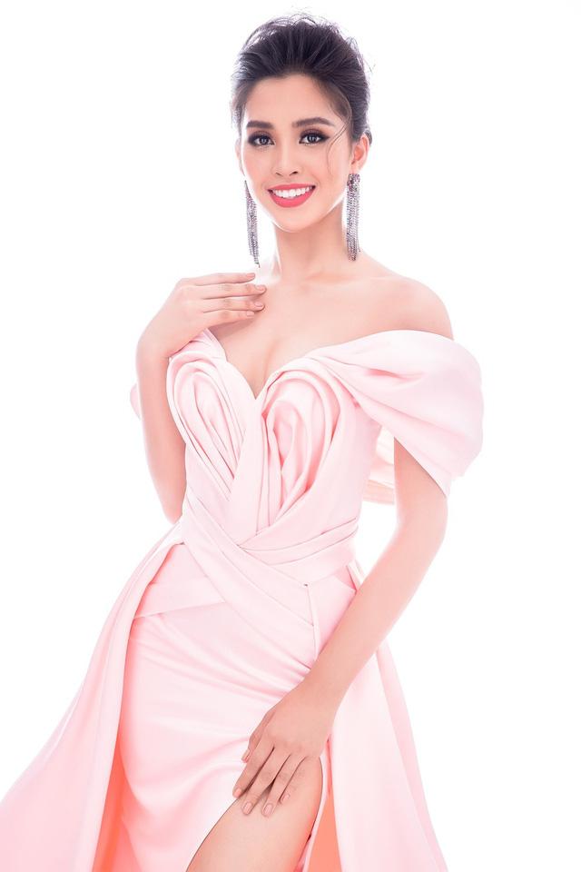 Lộ diện 4 chiếc đầm dạ hội Hoa hậu Tiểu Vy mang đến Miss World 2018 - Ảnh 8.
