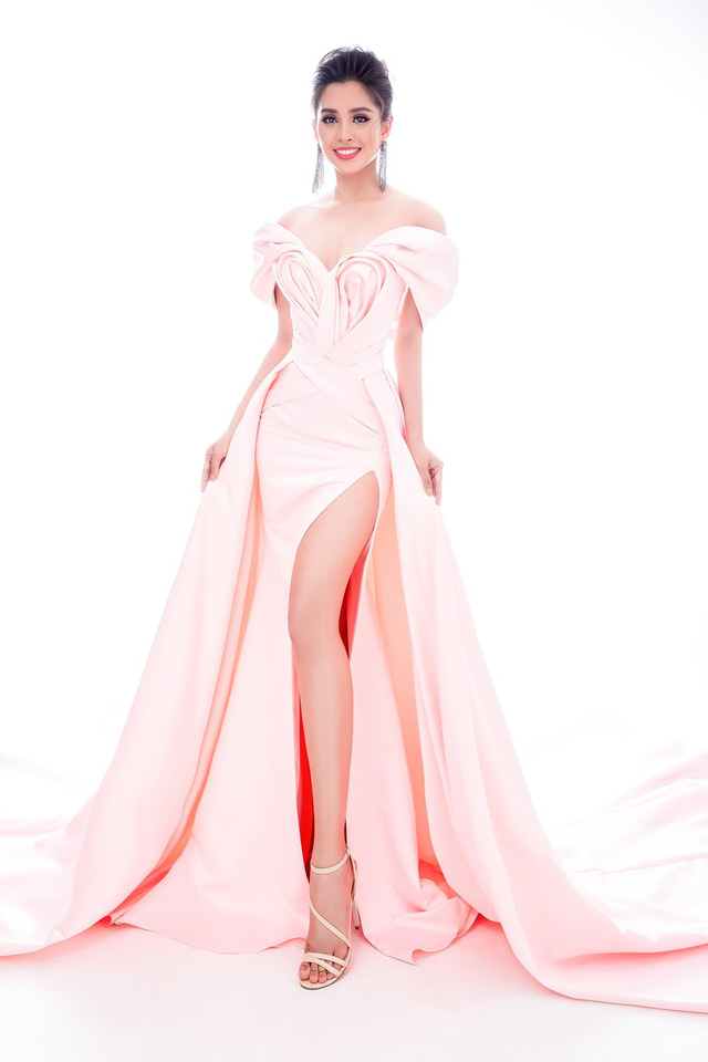 Lộ diện 4 chiếc đầm dạ hội Hoa hậu Tiểu Vy mang đến Miss World 2018 - Ảnh 9.