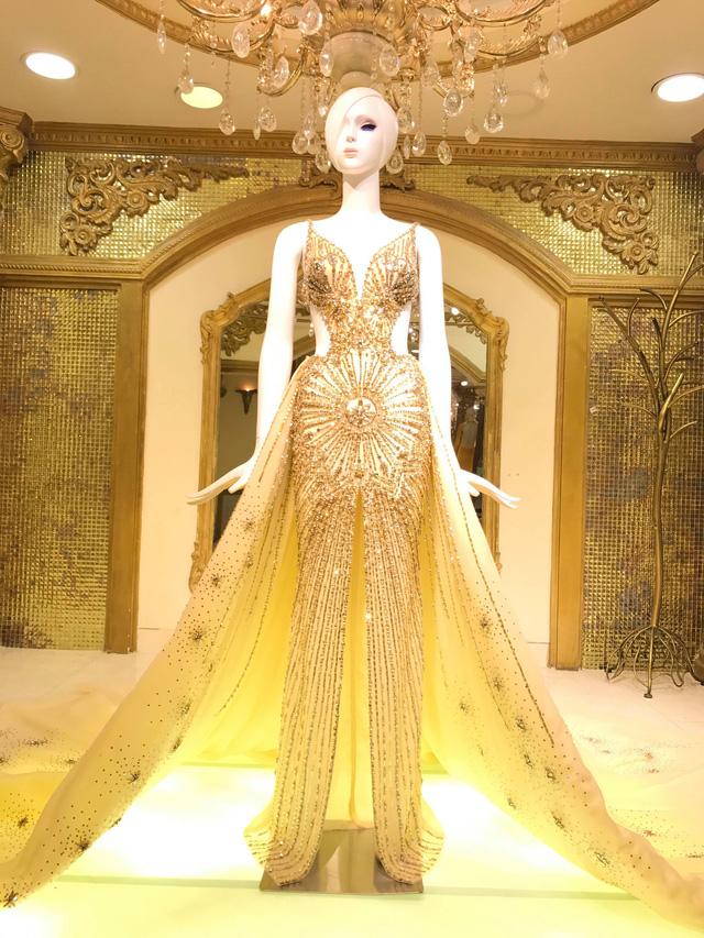 Hé lộ chiếc đầm Nguyễn Phương Khánh mặc trong đêm Chung kết Miss Earth 2018 - Ảnh 3.