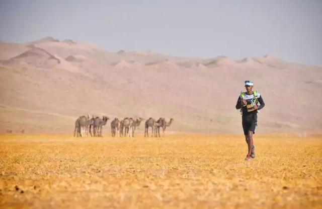 Hàng trăm vận động viên tham gia cuộc đua marathon trên sa mạc - Ảnh 5.