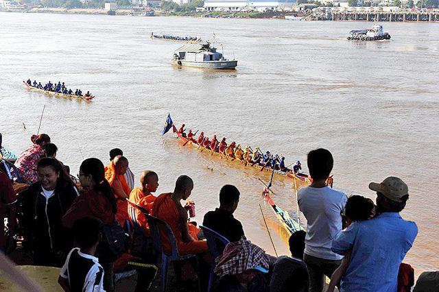Campuchia và Lào đón lễ hội lớn nhất trong năm - Ảnh 1.