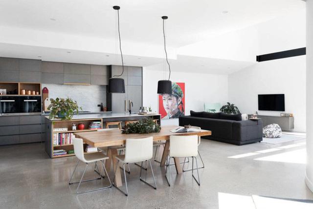 Ngôi nhà mái lệch giúp giải nhiệt và chống thấm hiệu quả - Ảnh 3.