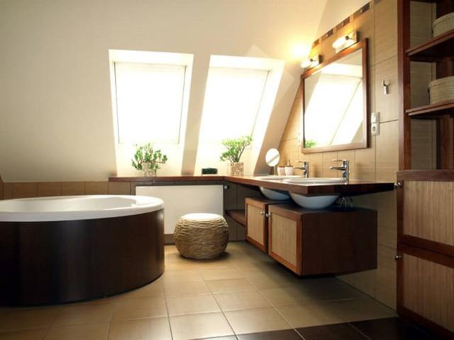 Những mẫu thiết kế phòng tắm cuốn hút mọi ánh nhìn - Ảnh 1.