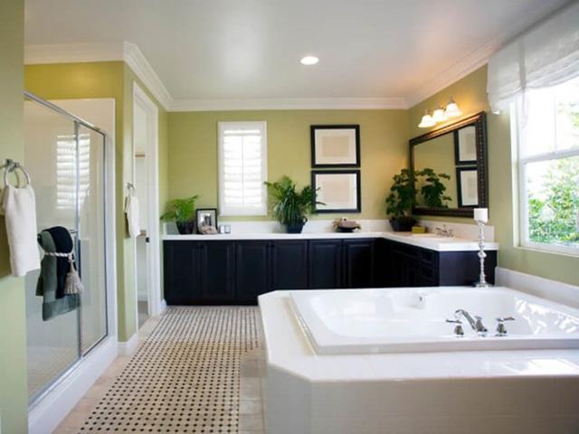 Những mẫu thiết kế phòng tắm cuốn hút mọi ánh nhìn - Ảnh 2.