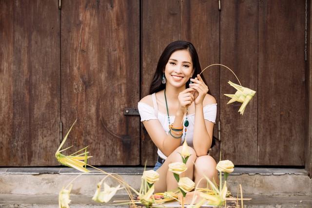 Hoa hậu Tiểu Vy mang hình ảnh Hội An đến Miss World 2018 - Ảnh 11.
