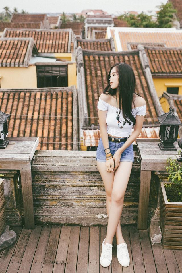 Hoa hậu Tiểu Vy mang hình ảnh Hội An đến Miss World 2018 - Ảnh 5.