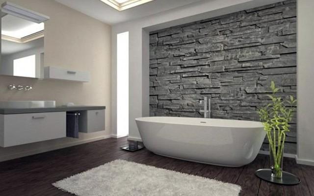 Những mẫu thiết kế phòng tắm cuốn hút mọi ánh nhìn - Ảnh 7.